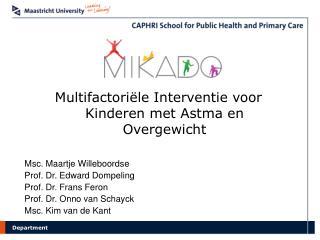 Multifactoriële Interventie voor Kinderen met Astma en Overgewicht
