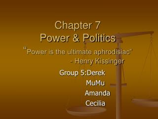Group 5:Derek             MuMu               Amanda             Cecilia