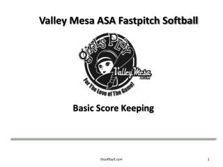 Valley Mesa ASA Fastpitch Softball