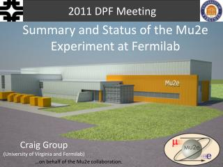 Summary and Status of the Mu2e Experiment at Fermilab