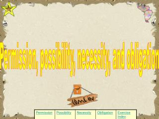 Permission, possibility, necessity, and obligation