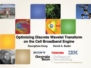 Optimizing Discrete Wavelet Transform on the Cell Broadband Engine