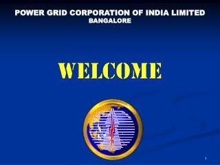 POWER GRID CORPORATION OF INDIA LIMITED BANGALORE