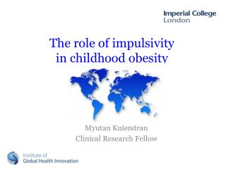 The role of impulsivity in childhood obesity