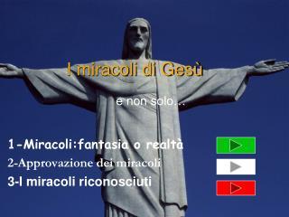 I miracoli di Gesù