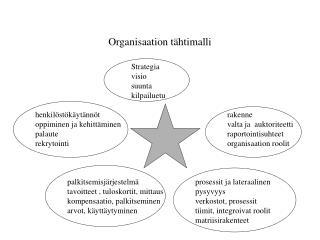 Organisaation tähtimalli