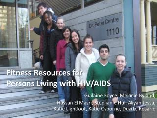 Fitness Resources for  Persons Living with HIV/AIDS