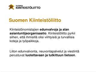 Suomen Kiinteistöliitto