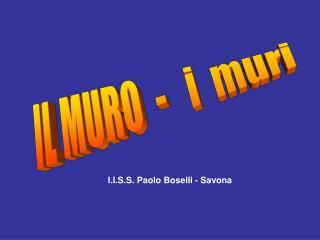 I.I.S.S. Paolo Boselli - Savona