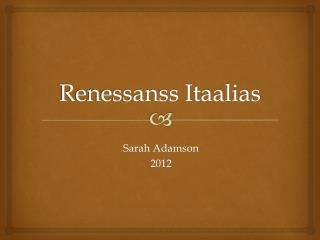 Renessanss Itaalias