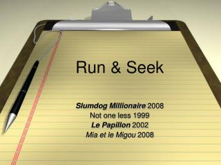 Run & Seek