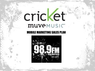 MOBILE MARKETING SALES PLAN