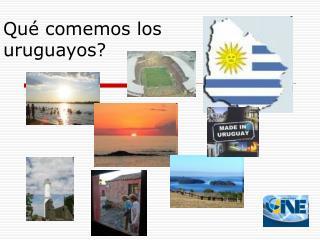 Qu� comemos los uruguayos?