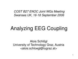 Analyzing EEG Coupling