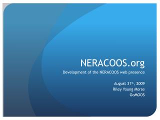 NERACOOS