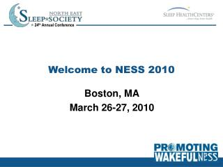 Welcome to NESS 2010