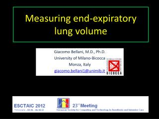 Measuring end-expiratory lung volume
