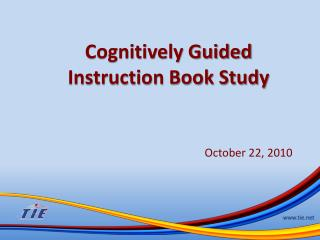 Cognitively Guided Instruction Book Study