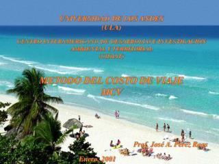 UNIVERSIDAD DE LOS ANDES                                   (ULA)