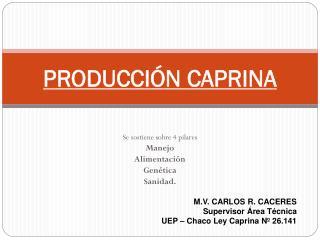 PRODUCCIÓN CAPRINA