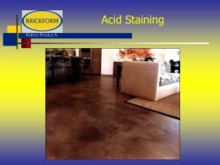 Acid Staining