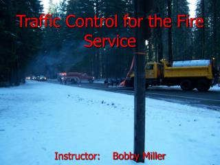 Traffic Control for the Fire Service