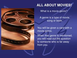 ALL ABOUT MOVIES!