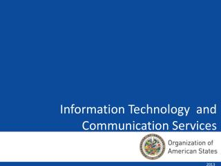 Information Technology  and Communication Services