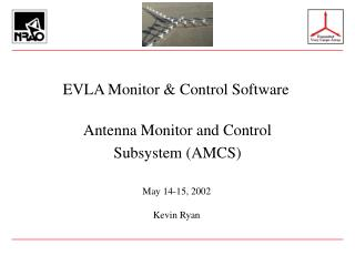 EVLA Monitor & Control Software