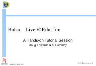 Balsa – Live @Eilat.fun