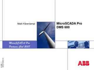 MicroSCADA Pro DMS 600
