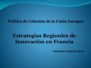 Pol�tica de Cohesi�n de la Uni�n Europea