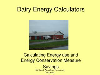 Dairy Energy Calculators