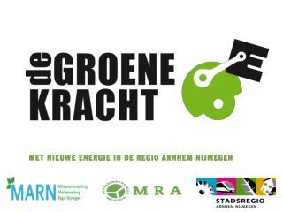 Routekaart  De Groene Kracht Commissie Ruimte & Wonen, Stadsregio