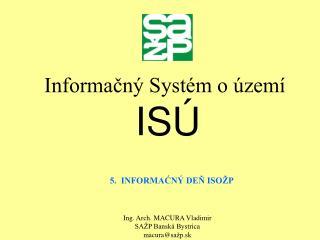 Informačný Systém o území ISÚ