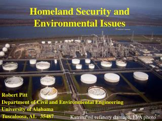 Homeland Security and Environmental Issues