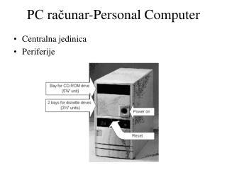 PC računar -Personal Computer