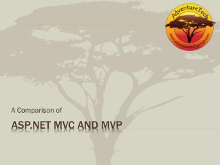 ASP.NET MVC and MVP