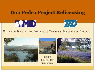 Don Pedro Project Relicensing
