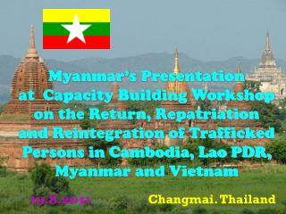 Myanmar's Presentation