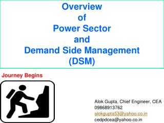 Overview of Power Sector and Demand Side Management (DSM)