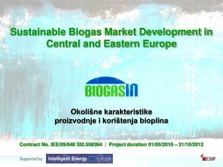 Okolišne karakteristike  proizvodnje i korištenja bioplina