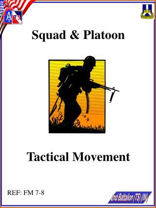 Squad & Platoon Tactical Movement