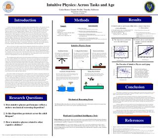 Intuitive Physics: Across Tasks and Age