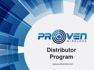 Distributor Program