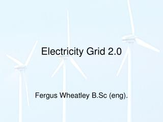 Electricity Grid 2.0