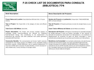 F-25 CHECK LIST DE DOCUMENTOS PARA CONSULTA  (BIBLIOTECA)  774