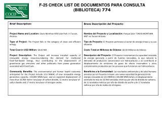 F-25 CHECK LIST DE DOCUMENTOS PARA CONSULTA  (BIBLIOTECA)  774