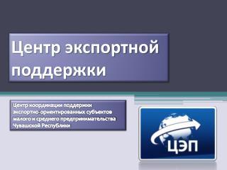 Центр экспортной поддержки