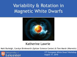 Variability & Rotation in Magnetic White Dwarfs
